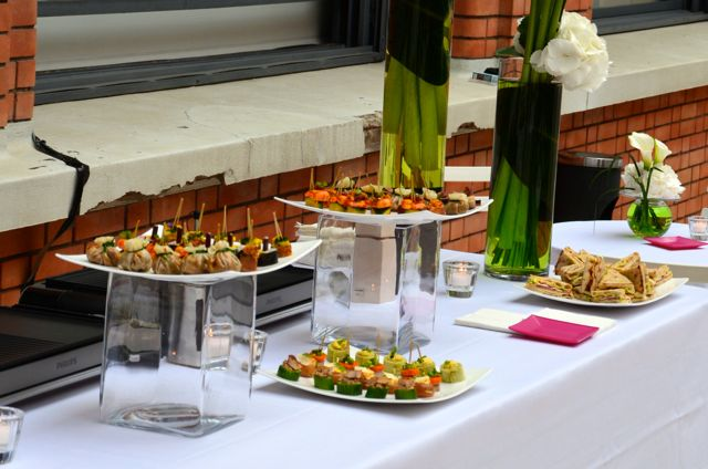 Le traiteur vous propose des animations et ateliers culinaires.
