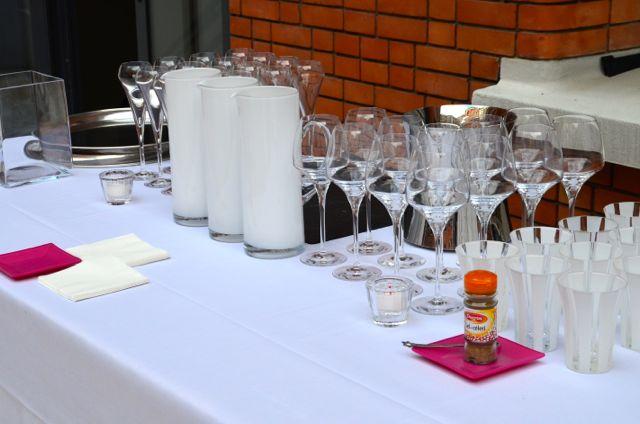 Pour une réception d'entreprise, surprenez vos invités.