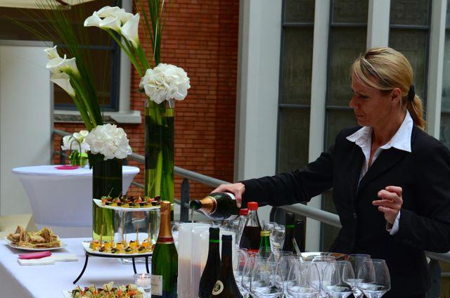 Sélection fine des boissons avec ou sans alcool.
