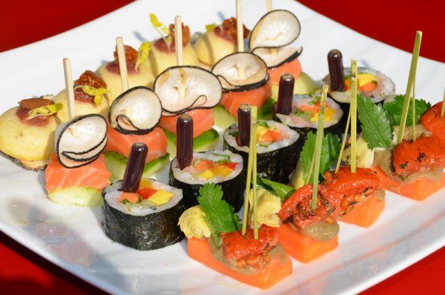 Les sushis sont très tendance pour vos événements et réceptions.