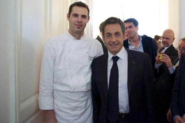 M. Sarkozy participait à cet événement de prestige.