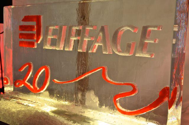 Eiffage a fait appel aux talents culinaire de Cédric Comte et de son équipe.