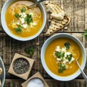 Osez les bars à soupes fraiches pour vos déjeuners ou diner d'entreprise.