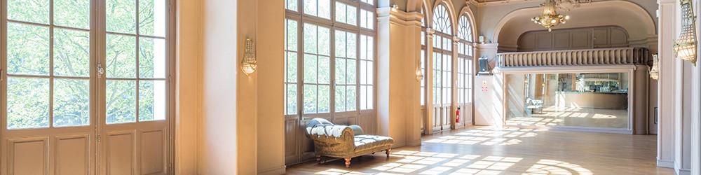 Votre traiteur de Saint-Cloud (92) vous propose cette sublime salle pour vos événements.